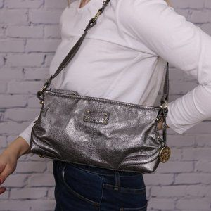 The Sak silver leather purse